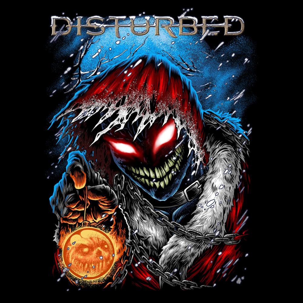 T Shirt Shop >> Disturbed Official Shop - Stole X-MAS - Disturbed - T-Shirt - Merch